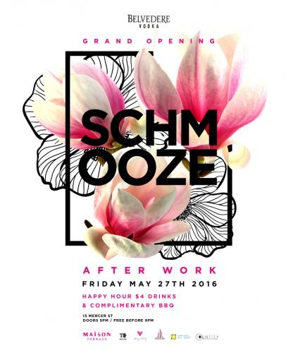 Schmooze Grand Opening Mailer